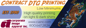 Corporate Image Apparel banner ad